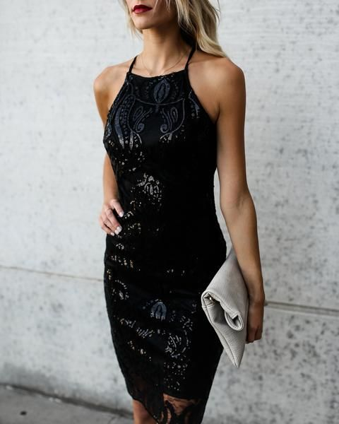 How To Wear Black Sparkly Dress: Top 15 Outfit Ideas - FMag.c