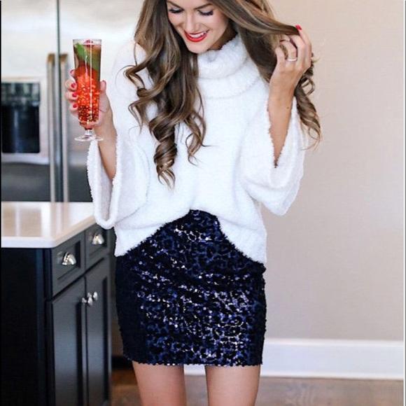 Express Skirts | Nwt Sequin Skirt | Poshma