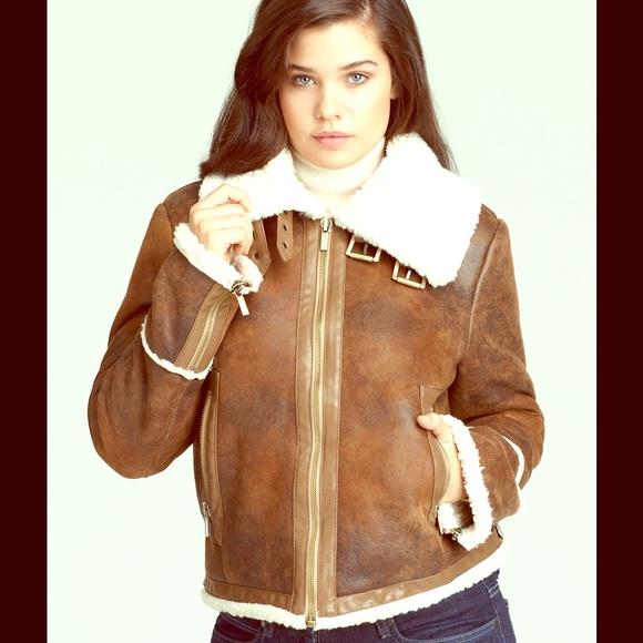 MICHAEL Michael Kors Jackets & Coats | Michael Kors Shearling .