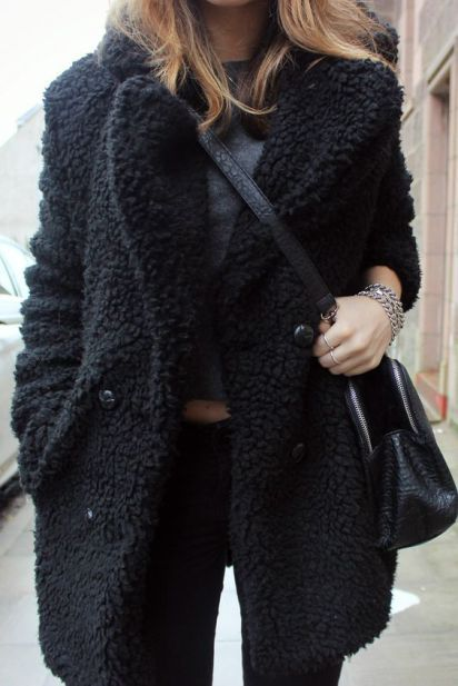 16 Teddy Coat Outfit Ideas That Are Super Cozy | Fashion, Teddy .