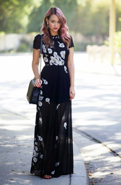 How to Wear Sheer Maxi Skirts: 15 Feminine Outfit Ideas - FMag.c