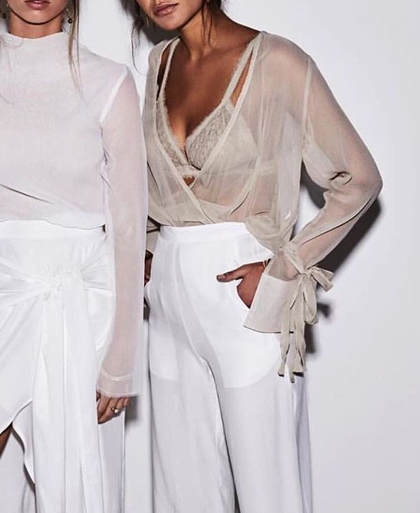 sheer blouse in Minimalistic Outfit   Outfit Ideas   Nutrition .