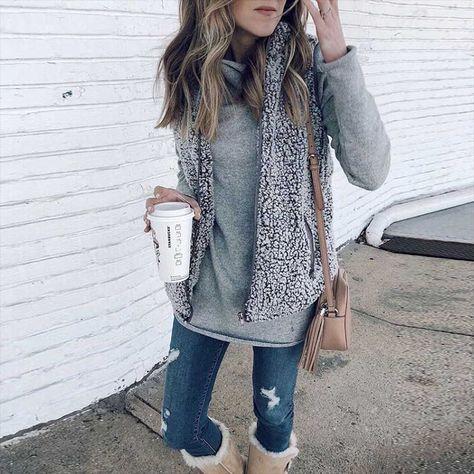 Fuzzy Faux Fur Winter Outerwear Sherpa Fleece Vest | Fashion .