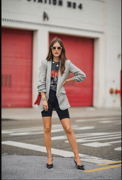 30 Ideas on How to Wear Bike Shorts for Wom