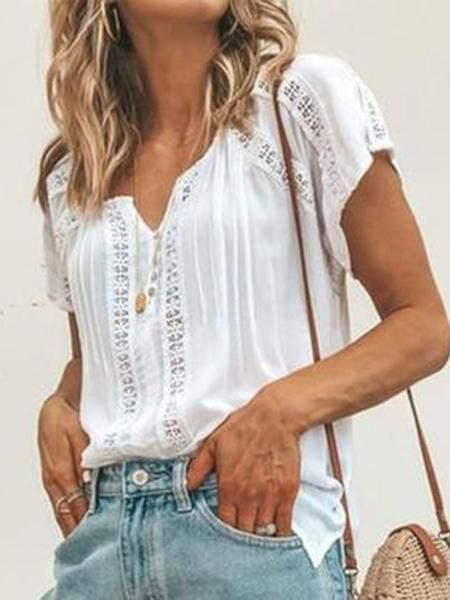 Pin by Ellen Ohnemus on Someday... | Short sleeve blouse, Fashion .