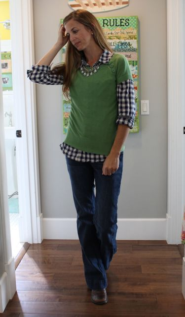 what i wore | Short sleeve sweater outfit, Sweater sleeves, Short .