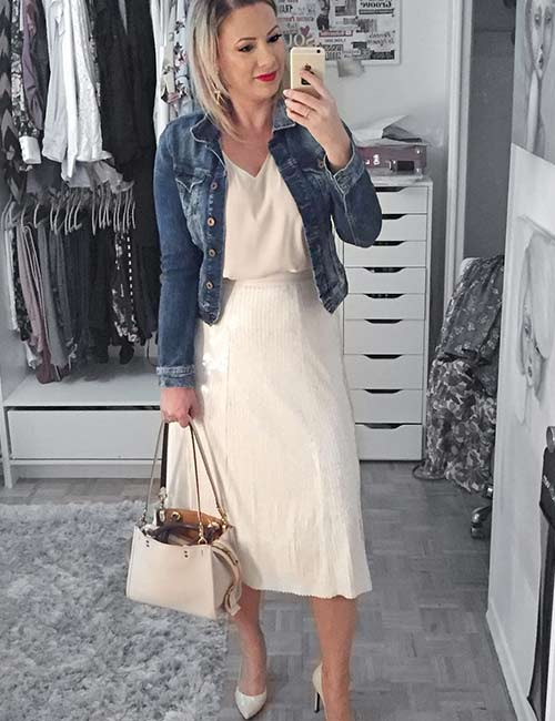 Denim Jackets For Women - 25 Cute Outfit Ide