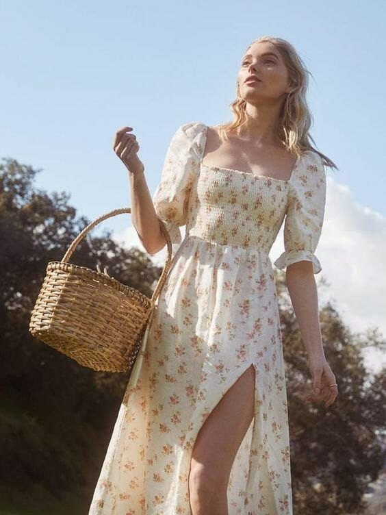 27 Summer Straw Handbags + Outfit Ideas | Chic summer outfits .