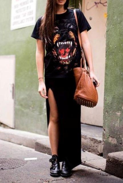 16 Feminine Side Slit Skirt Ideas To Try - Styleohol