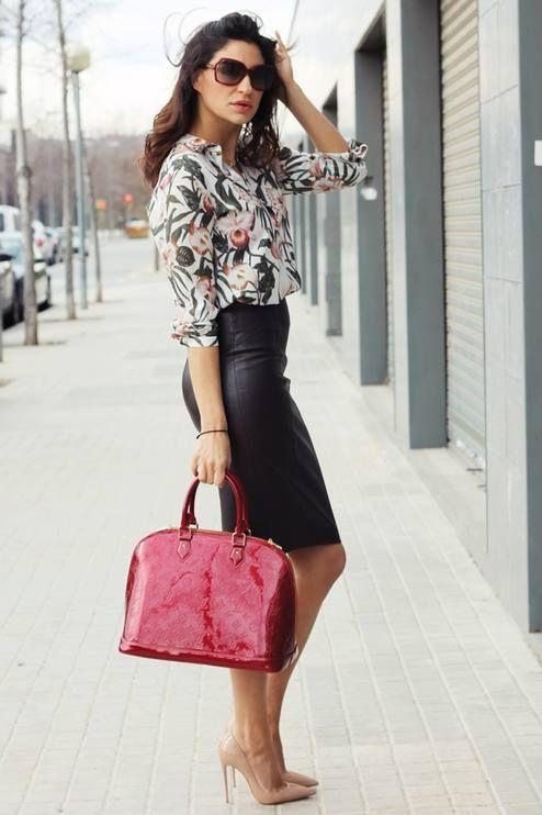Zara Floral Silk Blouse #Zara Silk Blouse #Floral Silk Blouse .