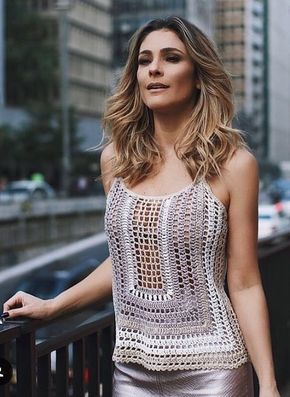 34 Classy Outfit Ideas You Need To Try | Crochet top outfit .