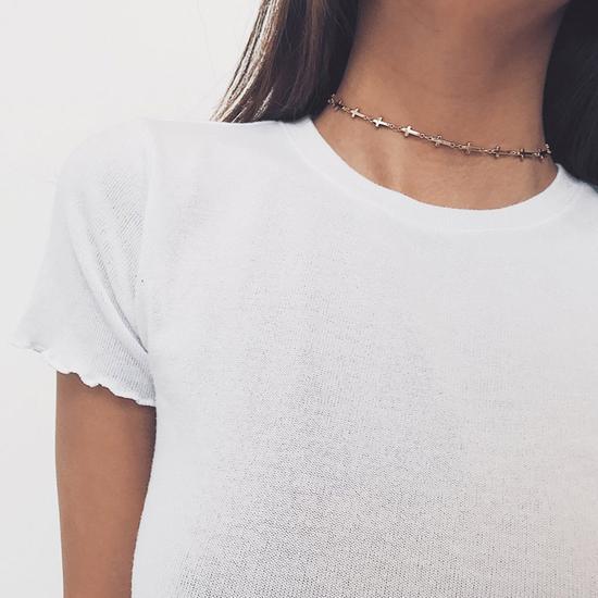 How to Wear a Choker? - 50+ Choker Necklace Outfit Ideas – MyBodiA