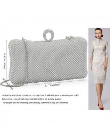 Ring Rhinestone Crystal Clutch Purse Luxury Women Evening Bag for .