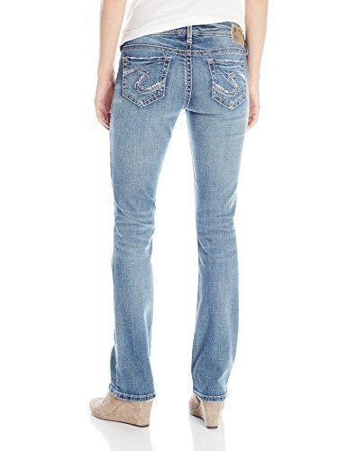 Silver Jeans Women's Tuesday Low Rise Slim Bootcut Jean #jeans .