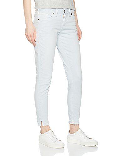 Silver Jeans Women's Elyse Skinny (Pale Blue) 32W x 27L   Women .