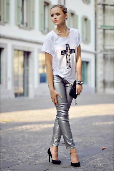 31 Grey Legging Outfit Ideas You Need to T