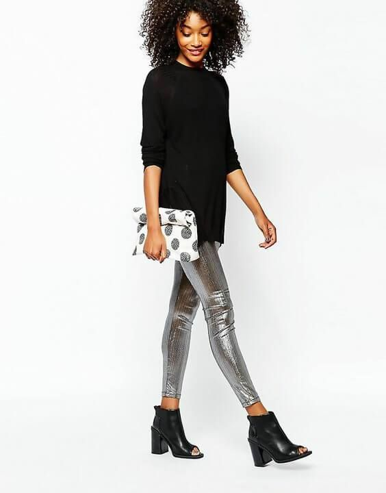 31 Grey Legging Outfit Ideas You Need to Try | Grey Leggings .