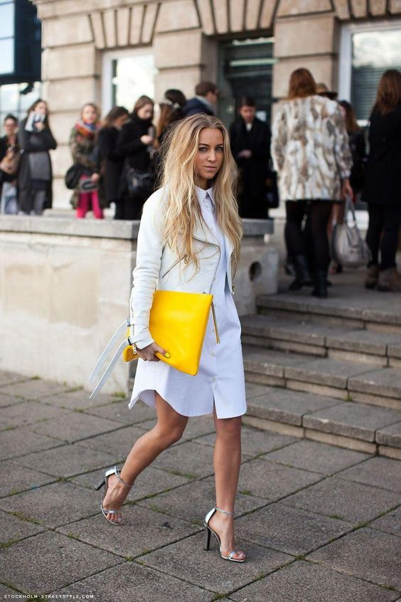 How To Style A Shirtdress For Work: 15 Examples - Styleohol