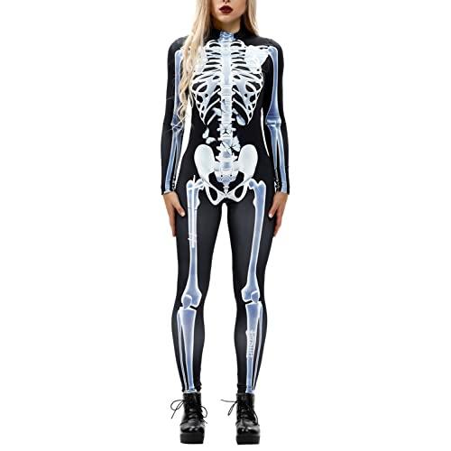 Women's Skeleton Costume: Amazon.c