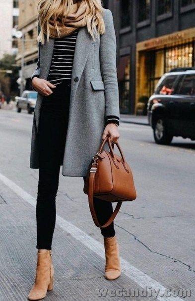25 Inspiring Women Winter Outfit Ideas – 2019 | Winter outfits .
