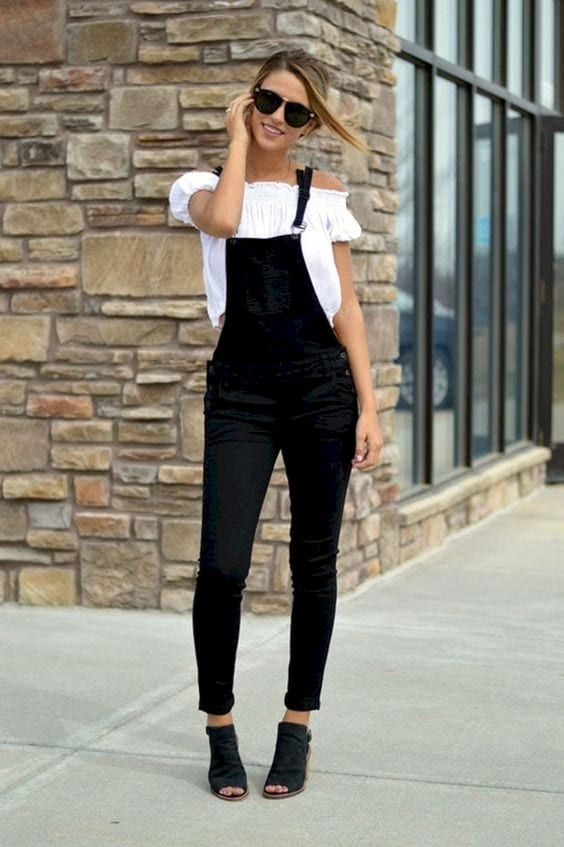 How to Wear Overalls: 30 Outfit Ideas For Every Occasion | Black .
