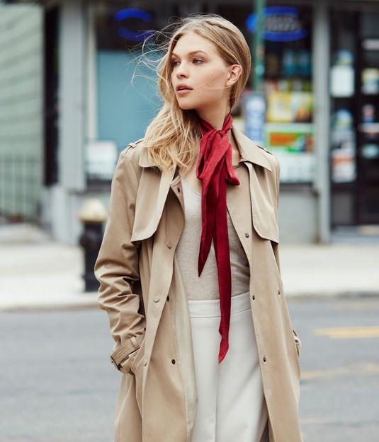 Skinny Scarf - Silk Scarves for Women | Henri Bendel | Ways to .
