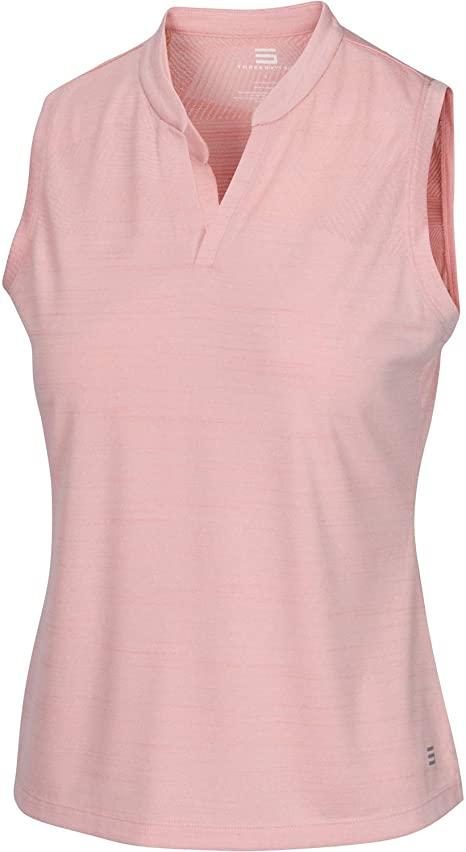 Amazon.com: Three Sixty Six Women's Sleeveless Collarless Golf .