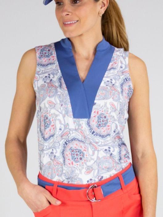 CLEARANCE JoFit Ladies Dixie Sleeveless Golf Shirts - Dixie (Dixie .