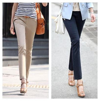 How to Wear Ankle Length Pants - Outfit Ideas