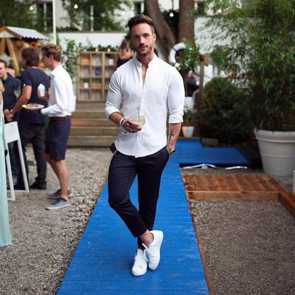 White Shirt Ideas For Men Style | Gaya pria, Pr