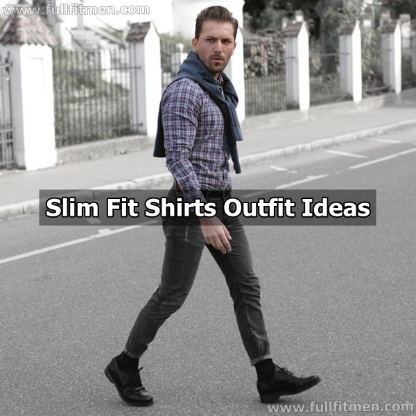 40 Fantastic Slim Fit Shirts Outfit Ideas for this Ye