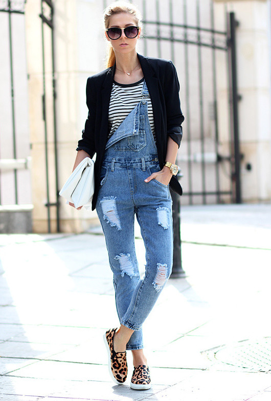 Casual-chic Outfit Ideas with Slip-on Shoes - Pretty Desig