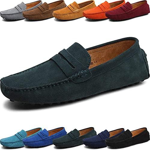 Amazon.com | Luxury Fashionable Soft Moccasins Genuine Leather .