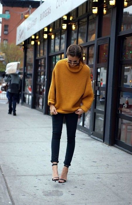 21 Cute Oversized Sweater Outfit Ideas Glamsugar.com Outfit Idea .