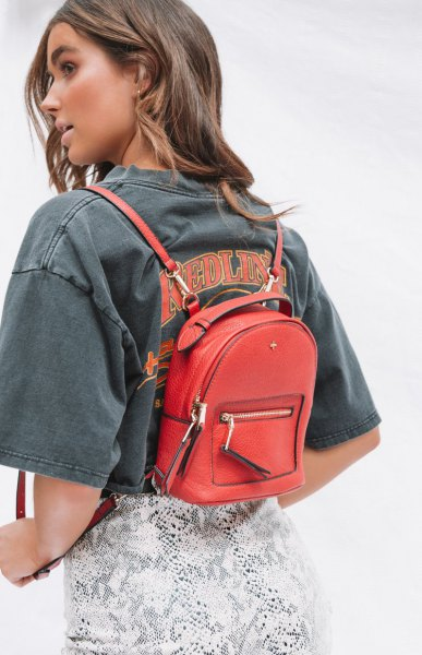 How to Wear Small Backpack Purse: Best 15 Nifty Outfit Ideas for .
