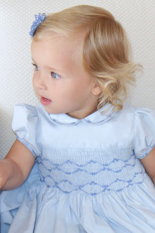 Smock dresses for special occasions, by Charlotte Sy Dimby .