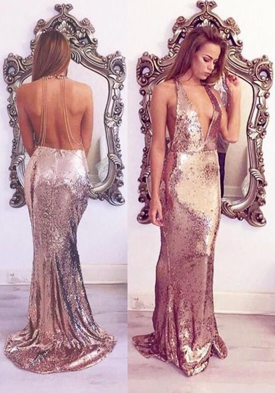 New Women Sequin Draped Mermaid Spaghetti Strap Backless Halter .