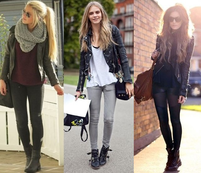How to Wear Combat Boots? Cute Outfit Ideas in Military Style .