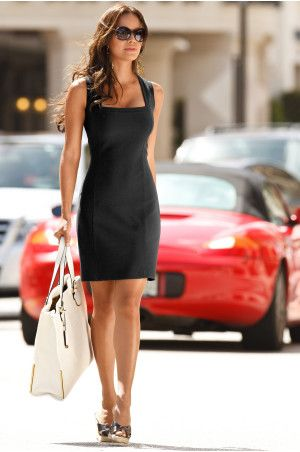 boston proper sleeveless square-neck dress. | Fashion, Clothes for .