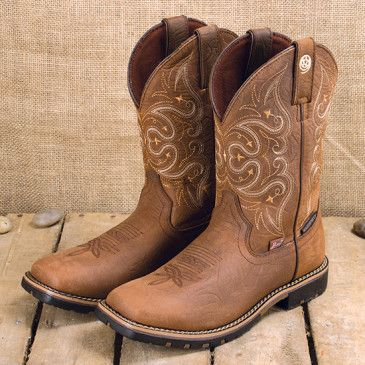 George Strait All Brown Square Toe Boot | Cute cowgirl boots .