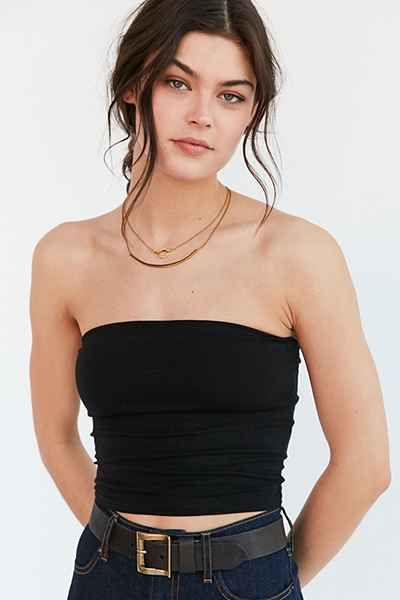 Silence + Noise Tal Tube Top in 2020 | Tube top outfits, Strapless .