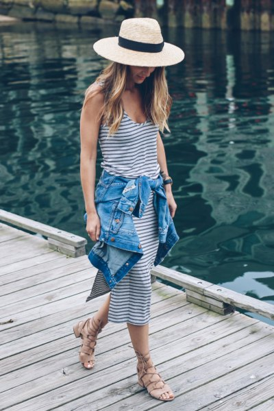 How to Style Straw Hat: 15 Super Chic Outfits - FMag.c