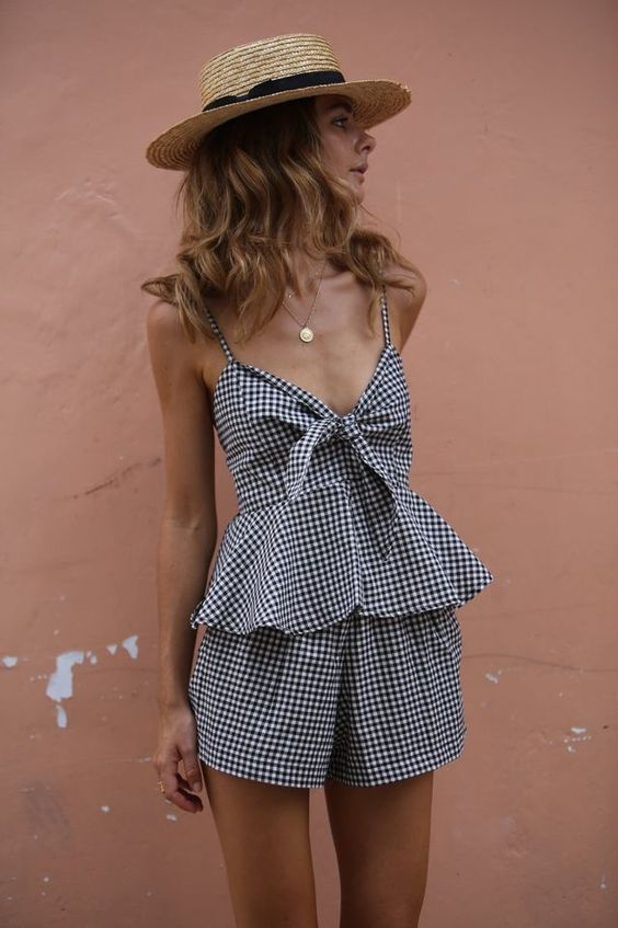 Straw Hat Outfits - 20 Ways to Wear a Straw Hat This Summ