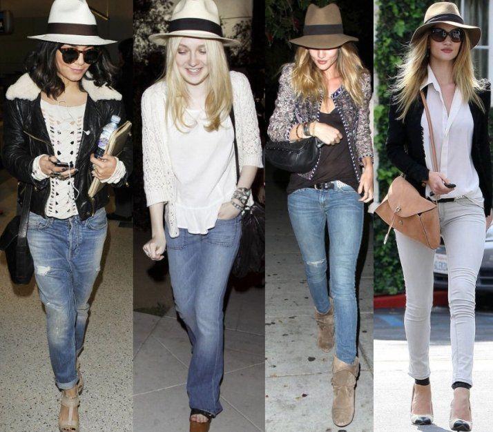 Celebrities + Straw Hats = Summer Ch