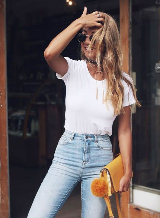 35 Casual Jeans Outfit Ideas for Summer | Fashion, Style, Cloth