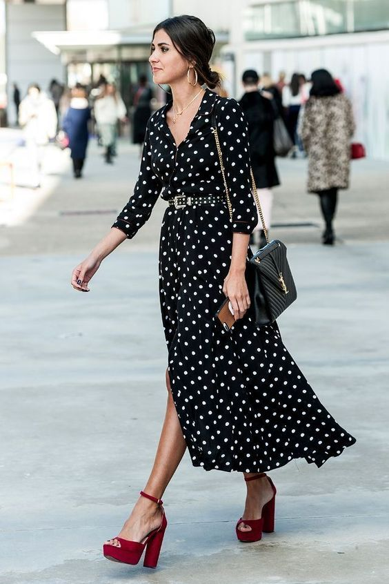 50 Street Style Shots for All the Dress Lovers Out There | Nice .