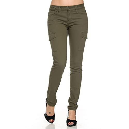 Women's Skinny Cargo Pants: Amazon.c
