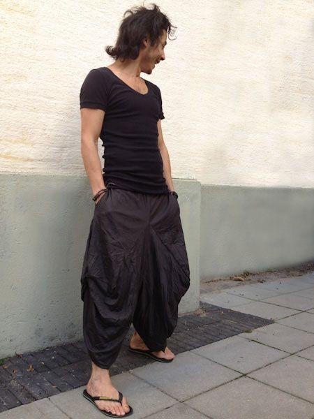 Black Stretch Samurai Pants. Samurai pants, also called Harem or .