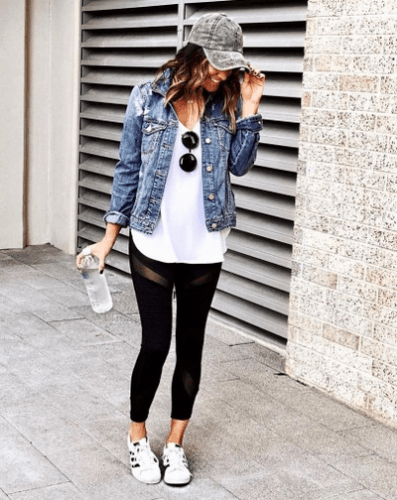 Adidas Legging Outfits-22 Ideas On How To Wear Adidas Tigh