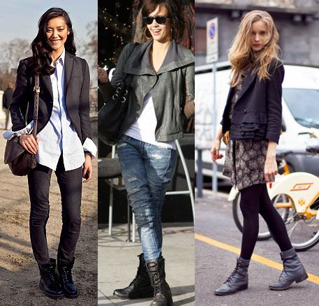 Currently coveting… MILITARY BOOTS! | Winter fashion outfits .